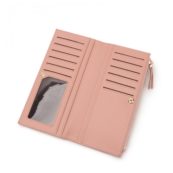 Stylish-Wallets-For-Ladies-RFID-Blocking-Vegan-Leather-Wallet-WOL004-2