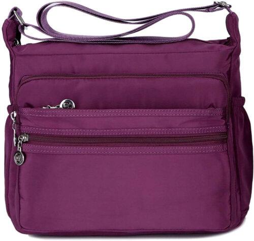 Waterproof-Shoulder-Bag-Nylon-Purse-Handbag-HB083-1