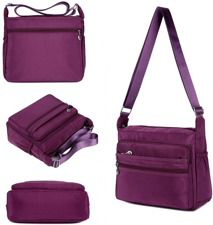 Waterproof-Shoulder-Bag-Nylon-Purse-Handbag-HB083-3