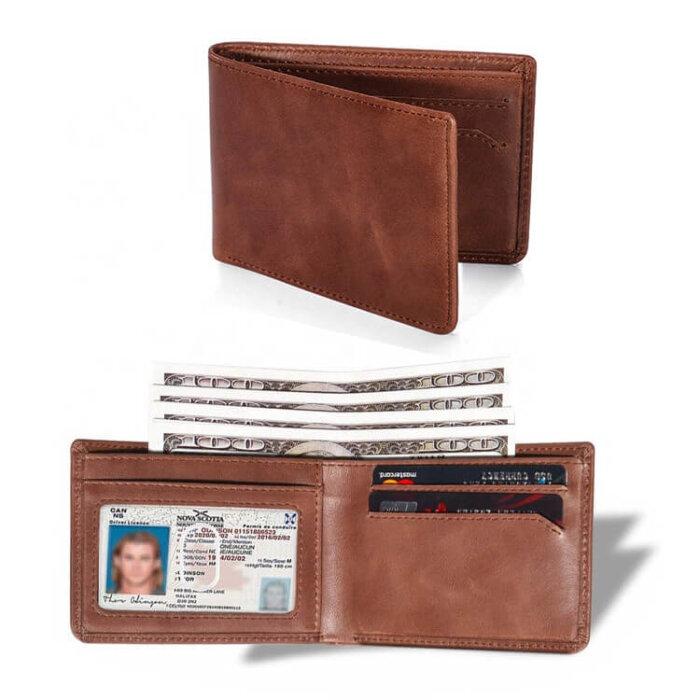 Wholesale-Genuine-LeatherBifold-Stylish-Wallet-WL033-1