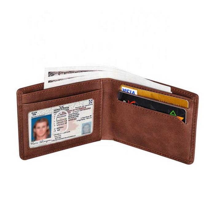 Wholesale-Genuine-LeatherBifold-Stylish-Wallet-WL033-2