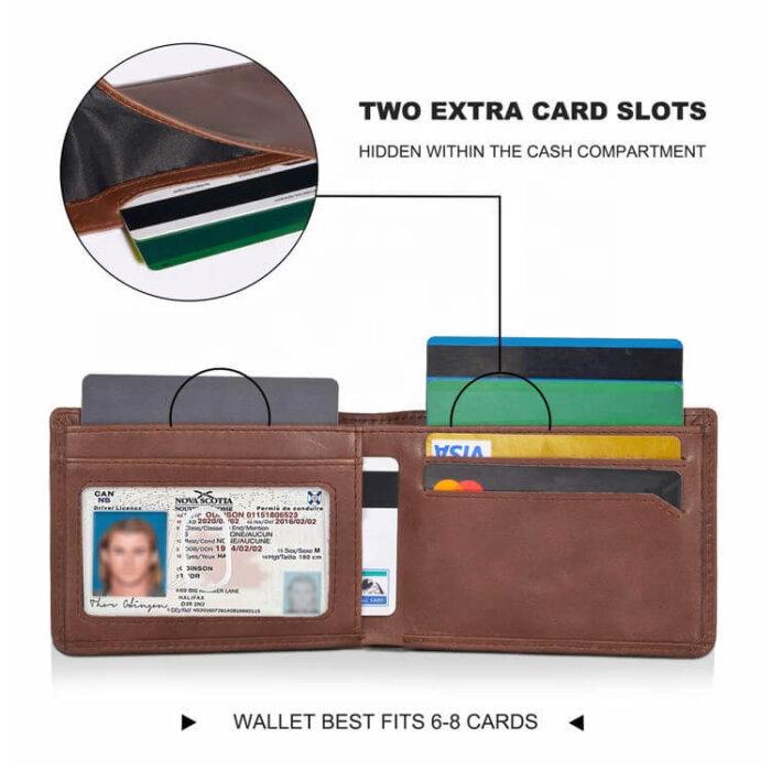 Wholesale-Genuine-LeatherBifold-Stylish-Wallet-WL033-5