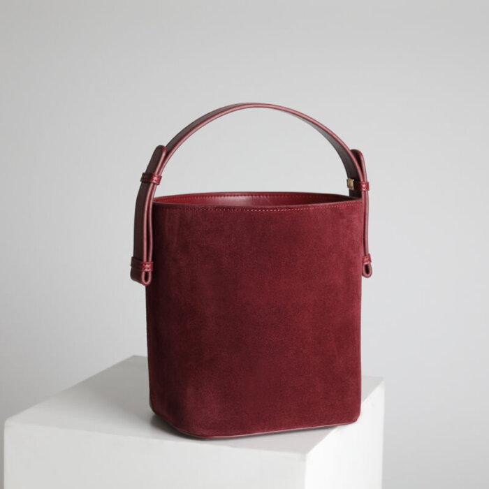 Wholesale-matte-bucket-handbag-CHB040-4