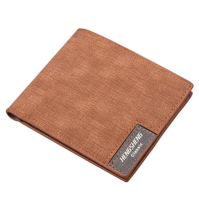 Wholesale-matte-canvas-wallet-WL064-1