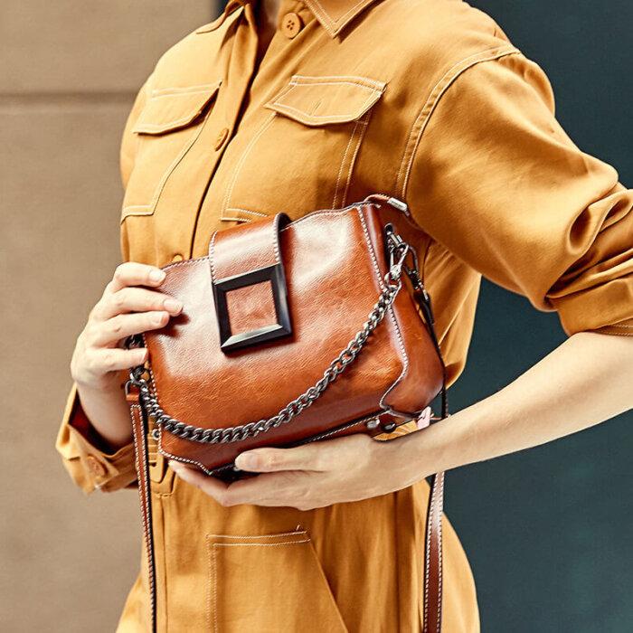 Wholesale-oil-waxed-cowhide-handbag-CHB092-1