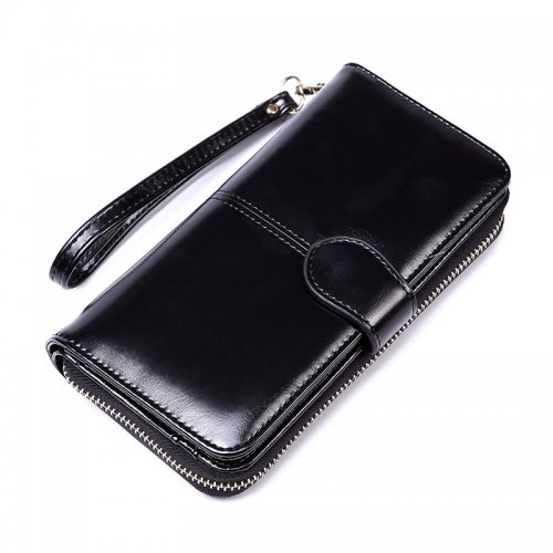 Woman-long-oil-waxed-wallet-wholesale-WOL026-2