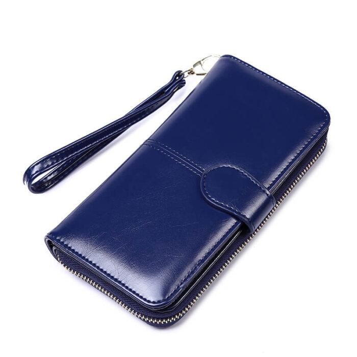 Woman-long-oil-waxed-wallet-wholesale-WOL026-3