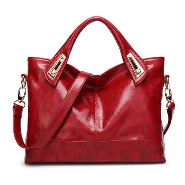Women-Oil-Wax-PU-leather-women-bags-HB019-1