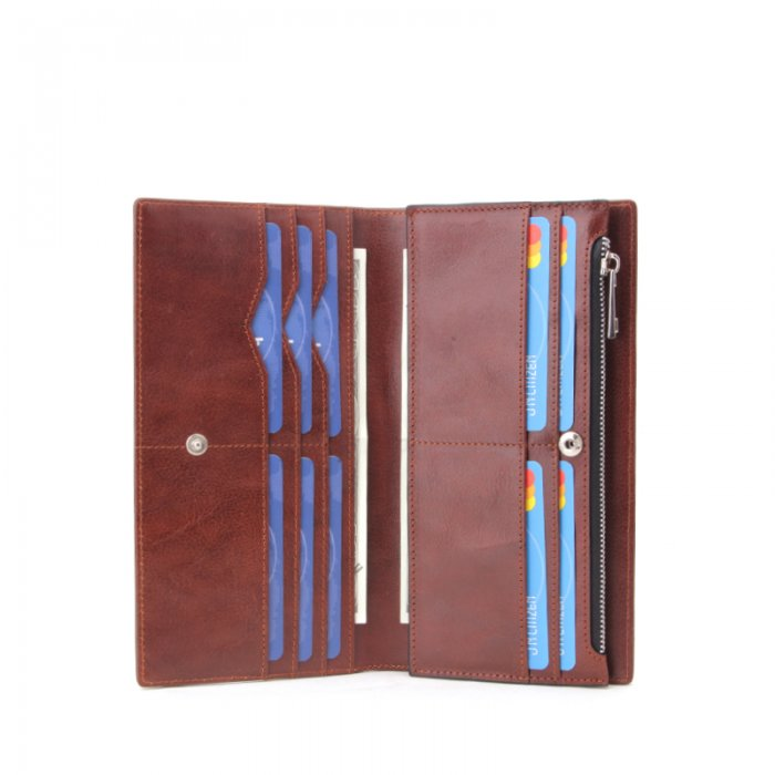 Womens-RFID-Blocking-PU-Leather-Clutch-Wallet-WOL010-1