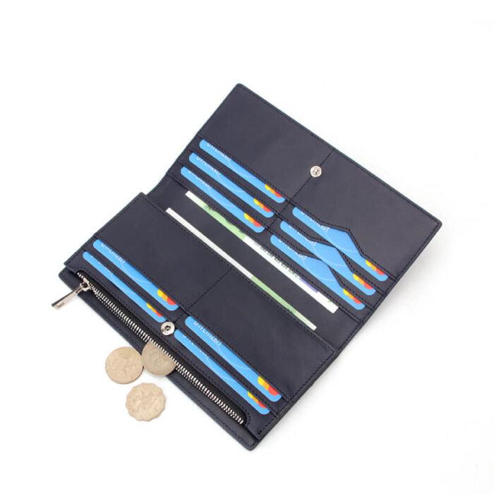 Womens-RFID-Blocking-PU-Leather-Clutch-Wallet-WOL010-5