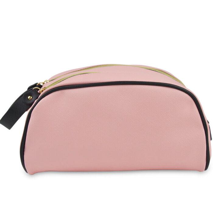 Zipper-PU-Leather-Waterproof-Travel-Cosmetic-Bag-COS009-2