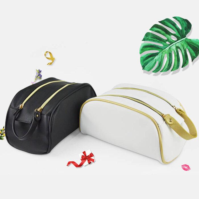 Zipper-PU-Leather-Waterproof-Travel-Cosmetic-Bag-COS009-5