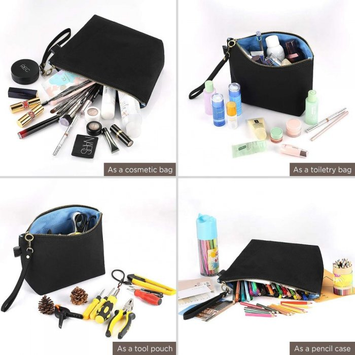 black-canvas-makeup-pouch-with-handle-COS084-2
