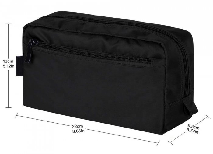 unisex-Travel-waterproof-nylon-fabric-Cosmetic-bag-COS099-3