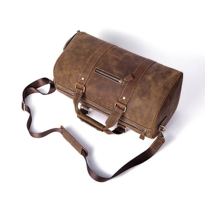 Custom-Logo-Duffle-Bag-Men-Shoe-Pocket-GDB010-5