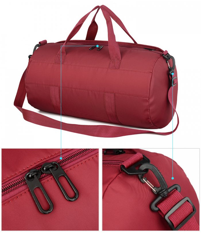 Custom-logo-printed-fitness-sport-duffle-travel-bag-with-shoe-compartment-DB025-5
