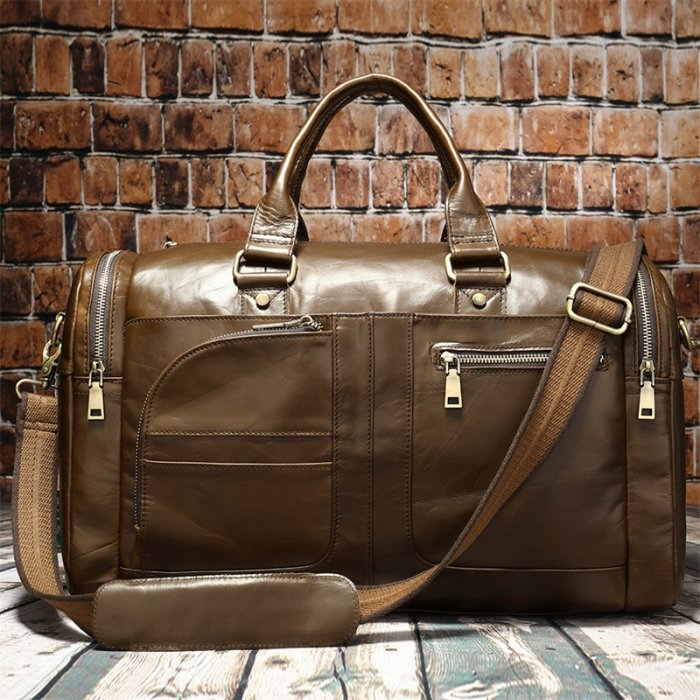 Drop-shipping-vintage-mens-Suitcase-Duffle-Big-Weekend-Bags-GDB009-2