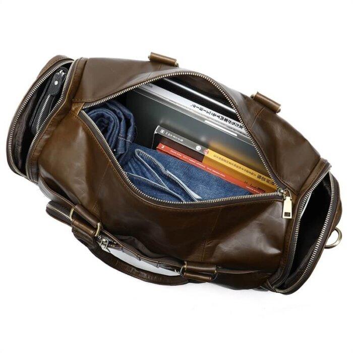 Drop-shipping-vintage-mens-Suitcase-Duffle-Big-Weekend-Bags-GDB009-4