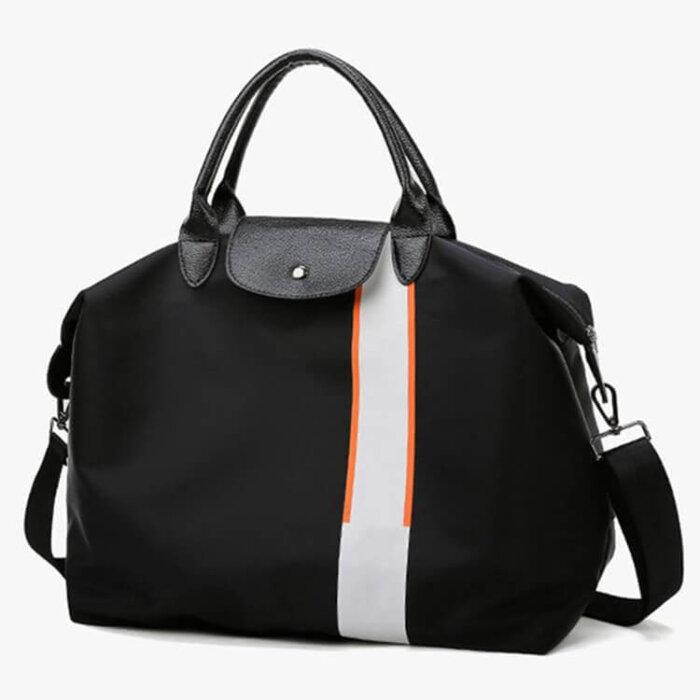 Fashion-portable-multi-functional-pink-women-weekend-travel-tote-bag-DB001-6