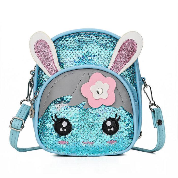 Fashion-sequin-kindergarten-kids-school-bag-rabbit-1