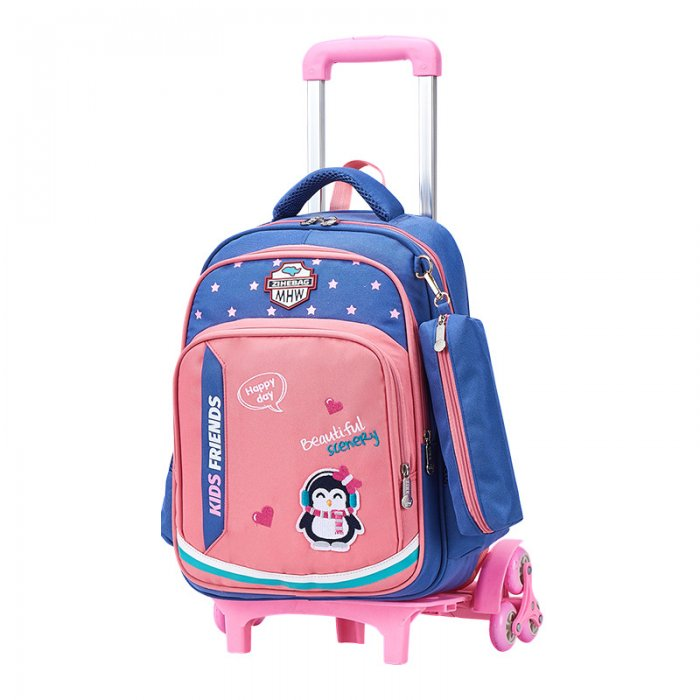 Flamingo-kids-schoo-trolley-bag-TR004-1
