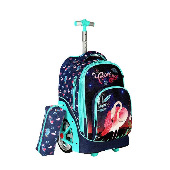 Flamingo-kids-schoo-trolley-bag-TR004-2