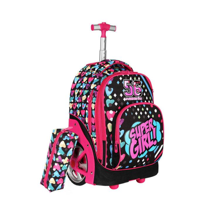 Flamingo-kids-schoo-trolley-bag-TR004-4