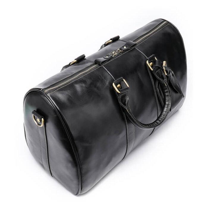 Genuine-Cowhide-Leather-Weekend-Bag-GDB003-2