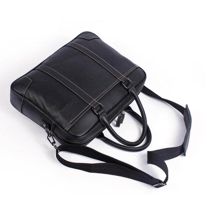 Genuine-Leather-Mens-Briefcase-Shoulder-Bag-GAB023-2