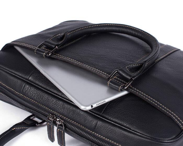 Genuine-Leather-Mens-Briefcase-Shoulder-Bag-GAB023-3