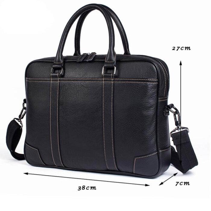 Genuine-Leather-Mens-Briefcase-Shoulder-Bag-GAB023