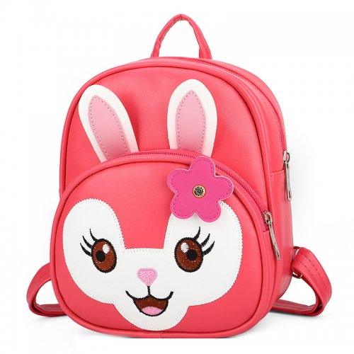 Kids-School-Bag-Backpack-PU-Animal-Rabbit-SC003-