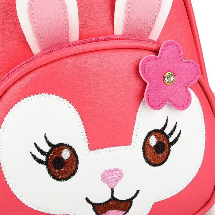 Kids-School-Bag-Backpack-PU-Animal-Rabbit-SC003-5