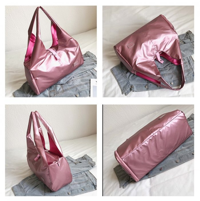 New-design-fashion-pink-sports-duffle-bags-for-swimming-yoga-DB011-2