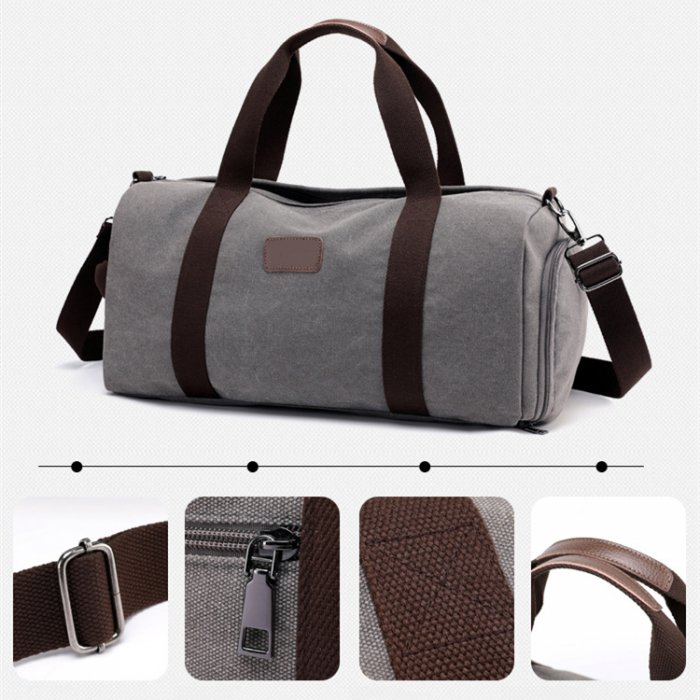 New-design-large-capacity-canvas-weekender-sports-duffle-bags-DB012-1