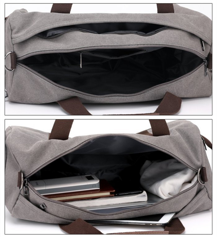 New-design-large-capacity-canvas-weekender-sports-duffle-bags-DB012-2