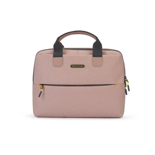 Pink-waterproof-women-laptop-computer-bag-LAB022-1