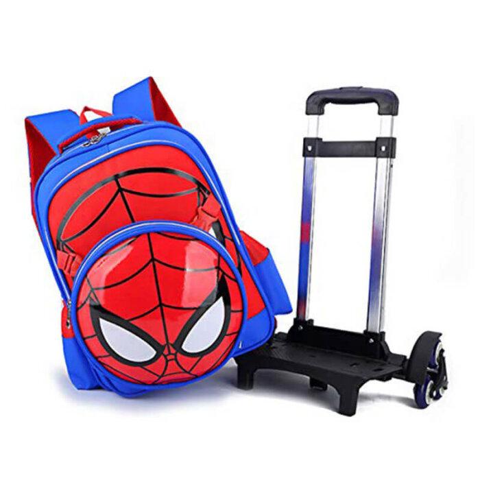 Spiderman-Six-Wheels-Trolley-Case-TR007-2