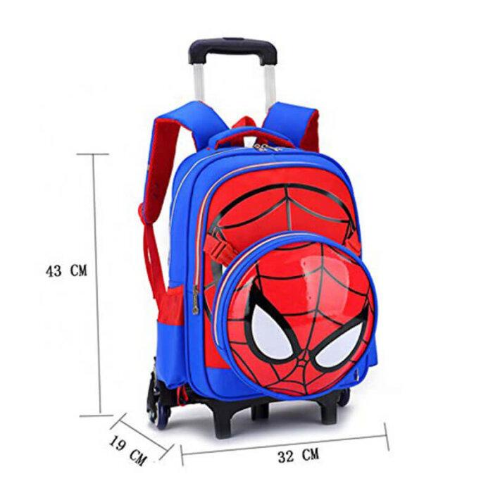 Spiderman-Six-Wheels-Trolley-Case-TR007-3
