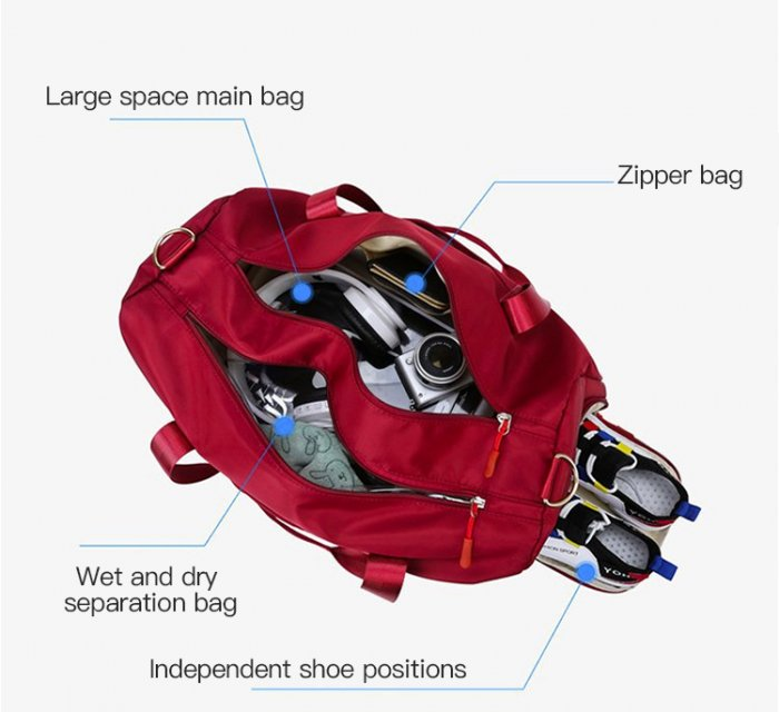 Travel-duffel-gym-sport-duffle-bags-with-shoe-compartment-DB009-5