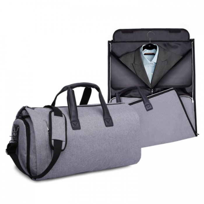 Waterproof-suit-cover-travel-duffel-bags-with-shoe-compartment-DB004-1