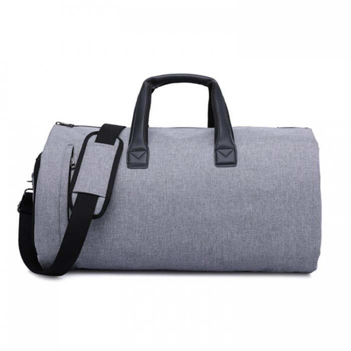 Waterproof-suit-cover-travel-duffel-bags-with-shoe-compartment-DB004-2