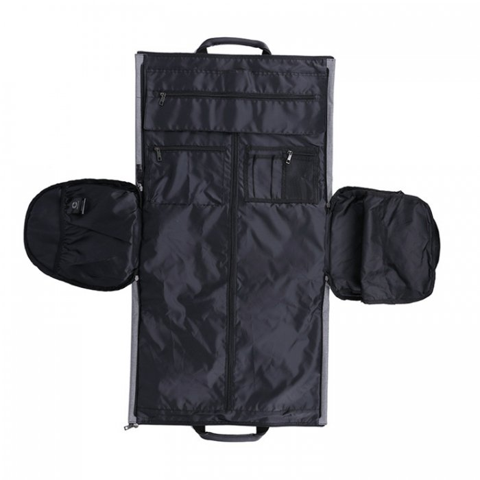 Waterproof-suit-cover-travel-duffel-bags-with-shoe-compartment-DB004-5
