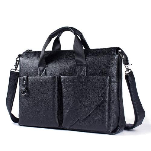 Wholesale-OEM-ODM-Genuine-Leather-Laptop-Bag-GAB014-1