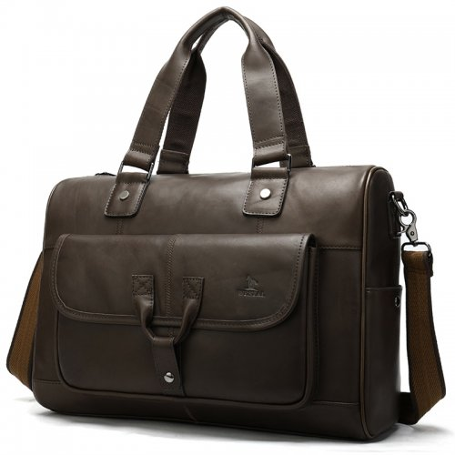 drop-shipping-vintage-Mens-Genuine-Leather-Duffle-Bag-GDB012-1