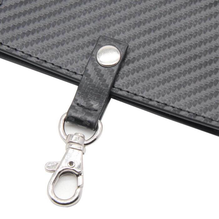 Carbon-Fiber-PU-Leather-ID-Badge-Holder-CRH002-1-3