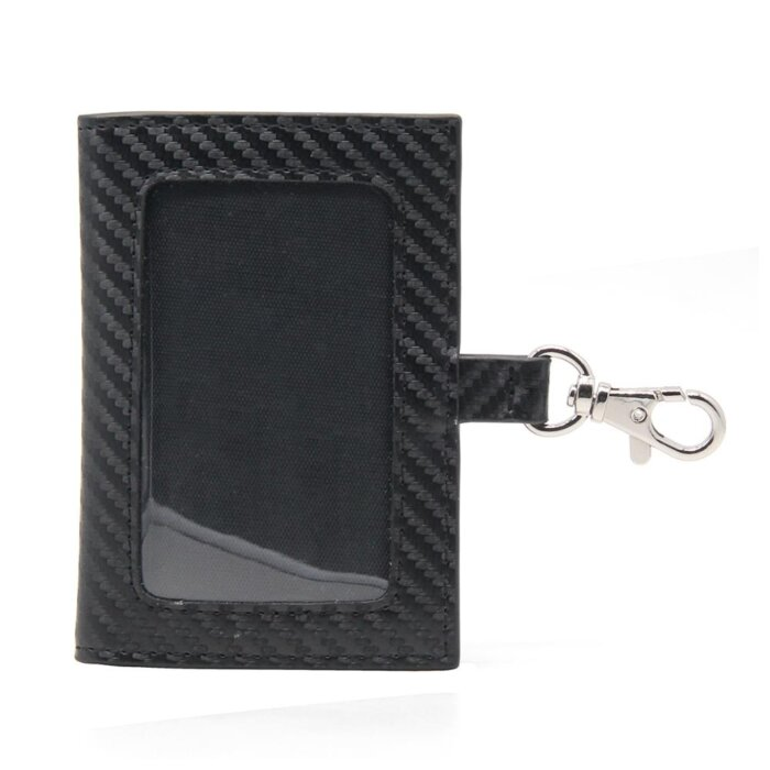 Carbon-Fiber-PU-Leather-ID-Badge-Holder-CRH002-1-4