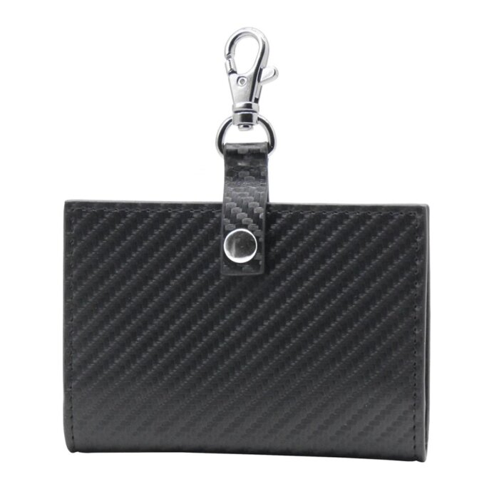 Carbon-Fiber-PU-Leather-ID-Badge-Holder-CRH002-1-6