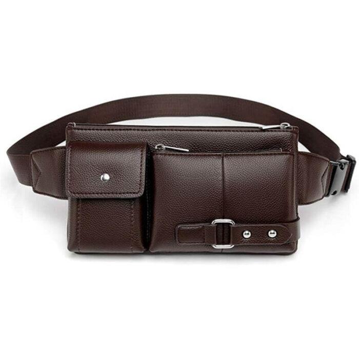 Wholesale-waterproof-pu-leather-waist-bag-PFP004-