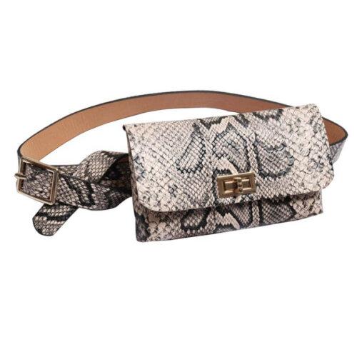 Women-Vintage-Snake-Skin-Waist-Bag-PFP005-2